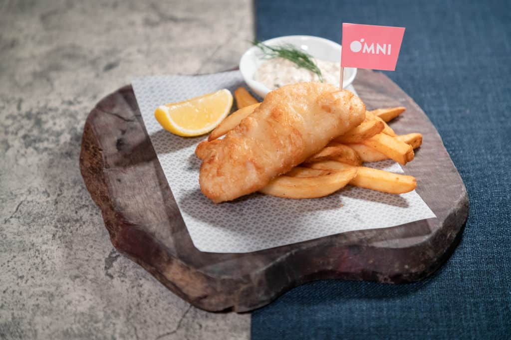 新炸魚薯條 © OmniFoods